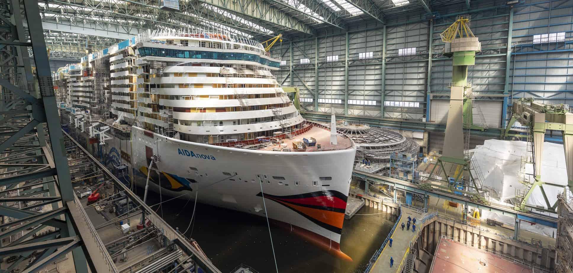 Bezoek aan de Meyer Werft